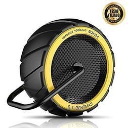 Portable Bluetooth Speakers, Mrice Wireless Speakers with Bu