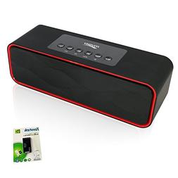 Portable Bluetooth Stereo Speaker, with 2X5W Dual Acoustic D