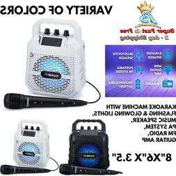 Portable Bluetooth USB Speaker Party Bass Stereo Boombox LED