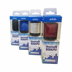 JOHA Portable Bluetooth v3.0 + EDR Mini speaker NEW Blue Sil