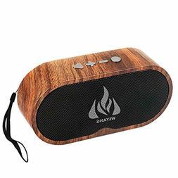 Portable Bluetooth Wireless Speaker Outdoor Wooden Universal