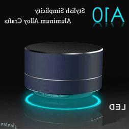 Portable LED Bluetooth Wireless Mini Super Bass Stereo Speak
