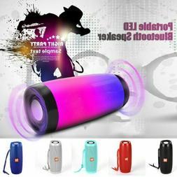 Portable LED Wireless Bluetooth Speaker Stereo Subwoofer Ult