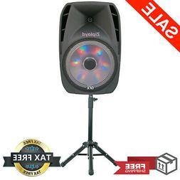 Portable Loud Speaker Bluetooth Party 7,500W 15 Inch Wireles