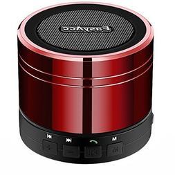 Portable Mini Bluetooth Speaker - Red
