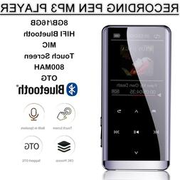 Portable MP3 Player Lossless HIFI MP4 Music Player Bluetooth