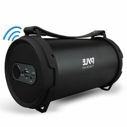 Pyle Portable Speaker, Bluetooth Speakers, USB/SD/FM Radio,
