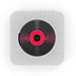 Portable Wall Mounted CD Player Bluetooth Speakers Home Audi