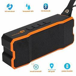 Teetox Portable Wireless Bluetooth Speaker IP65 Waterproof O