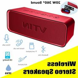 Portable Wireless bluetooth Speaker Waterproof Super Bass St