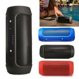 Portable Wireless Bluetooth Stereo Music Waterproof Speaker