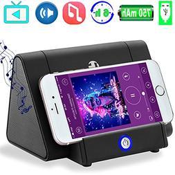Portable Wireless Speaker Phone Stand Music Loudspeaker Rech