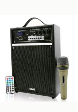 "Pyle-Pro 300-Watt Bluetooth 6.5"" Portable PA Speaker System"