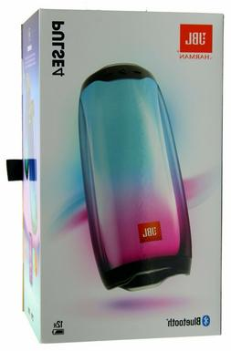 JBL Pulse 4 Waterproof Portable Bluetooth Speaker w/Light Sh