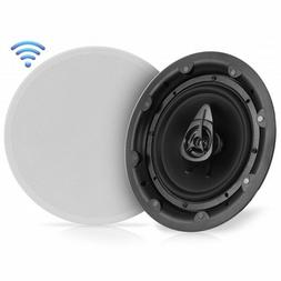 "Pyle PWRC85BT 2-Way 8"" In-Wall/Ceiling Bluetooth Speaker Sys"