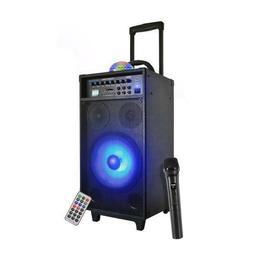 Pyle PWMA1095U Portable Bluetooth PA Speaker System, Flashin