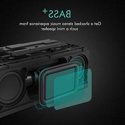 Meidong QQChocolate Bluetooth Speakers Portable Waterproof S