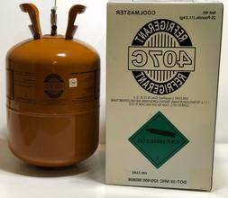 R407C Refrigerant  25 lb Cylinder - R-407c FACTORY SEALED -