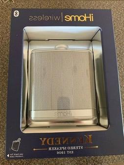 iHome Rechargeable Flask Shaped Bluetooth Stereo Speaker Cus