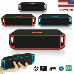 rechargeable wireless bluetooth speaker portable outdoor usb