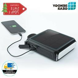 Renogy E.TUNES Solar Powered Bluetooth Speaker w/ 5000mAh Po