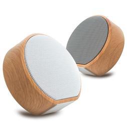 Retro Wood Bluetooth <font><b>Speaker</b></font> Portable <f