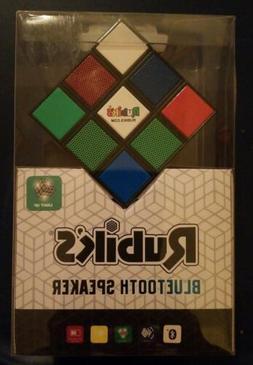 Rubik's Cube Bluetooth Speaker.  Lights up