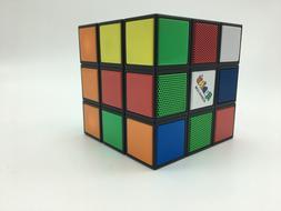 Vivitar Rubiks Bluetooth Speaker-Retro Style-Rotate-LightUP-