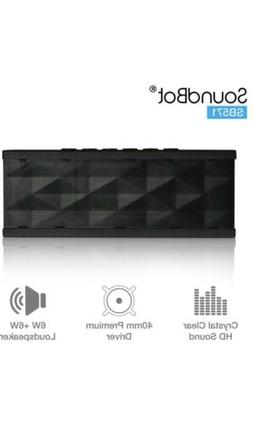 SoundBot Sb571pro Bluetooth QUADIO Satellite Portable Wirele