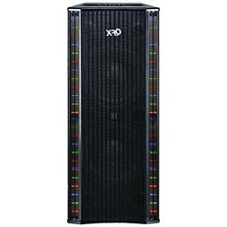 QFX SBX-410202BT Bluetooth Tower Home Theater Speaker electr