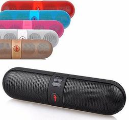 Shockproof Portable FM Stereo Wireless Bluetooth Speaker For