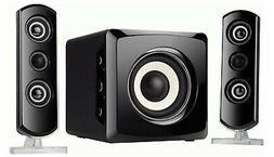 Sylvania SHTIB1046-BT 2.1 Bluetooth Home/Computer Speaker Sy