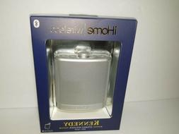iHome Silver Flask Speaker with Case Christmas Gift. . Speak