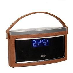 Jensen SMPS-725 Bluetooth Speaker Wireless Stereo FM Radio B