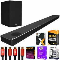 LG SN10YG 5.1.2 ch Dolby Atmos Soundbar with 1-Year Extended