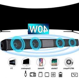 Sound Bar <font><b>Speaker</b></font> Wireless Music <font><