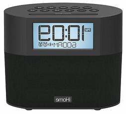 Sound Design iBT231B iHome Bluetooth Dual Alarm FM Clock Rad