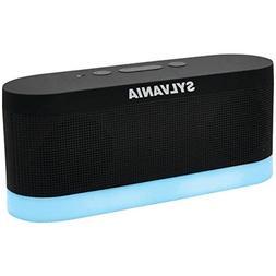 SYLVANIA SP136-BLACK Bluetooth Moonlight Speaker