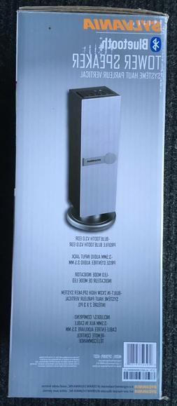 SYLVANIA Sp269-white Mini Bluetooth Tower Speaker