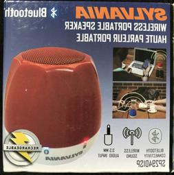 Sylvania SP294DSP Portable Bluetooth Wireless Speaker -Choos