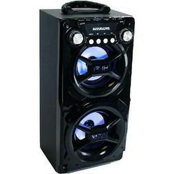 Sylvania SP328BLACK Bluetooth Speaker Party Speaker System P
