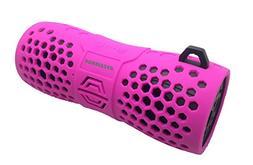 Sylvania SP332-PINK Water Resistant Bluetooth Speaker