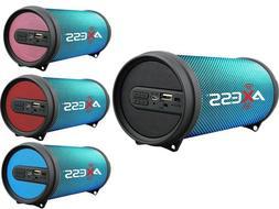 Axess SPBL1043 Hi-Fi Cylinder Speaker +Bluetooth +USB/FM/AUX