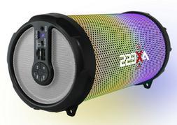 AXESS SPBL1044SL Vibrant Plus Black HIFI Bluetooth Speaker w