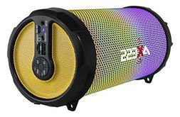 AXESS SPBL1044 Vibrant Plus Black HIFI Bluetooth Speaker wit