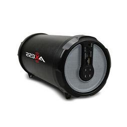 AXESS SPBT1030 Portable Bluetooth Indoor/Outdoor Hi-Fi Cylin