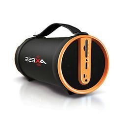 AXESS SPBT1033YL Axess Yellow Portable Bluetooth IndoorOutdo