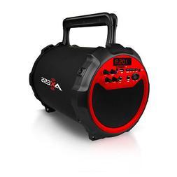 AXESS SPBT1034RD Axess RED Portable Bluetooth IndoorOutdoor