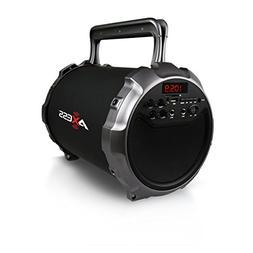 Axess SPBT1036GY  Portable Indoor/Outdoor Bluetooth Hi-Fi Cy