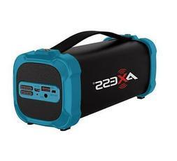 AXESS SPBT1073 Portable Indoor/Outdoor Bluetooth Media Speak